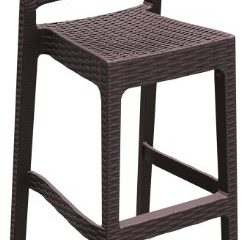 ATC Florida Resin All-Weather Stackable Ergonomic Barstool Expresso (Pack of 4)  sc 1 st  Outdoor Bar Stool Shop : ergonomic bar stools - islam-shia.org